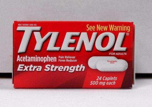 Tylenol (Acetaminophen 500 mg) Extra Strength - 24 Caplets