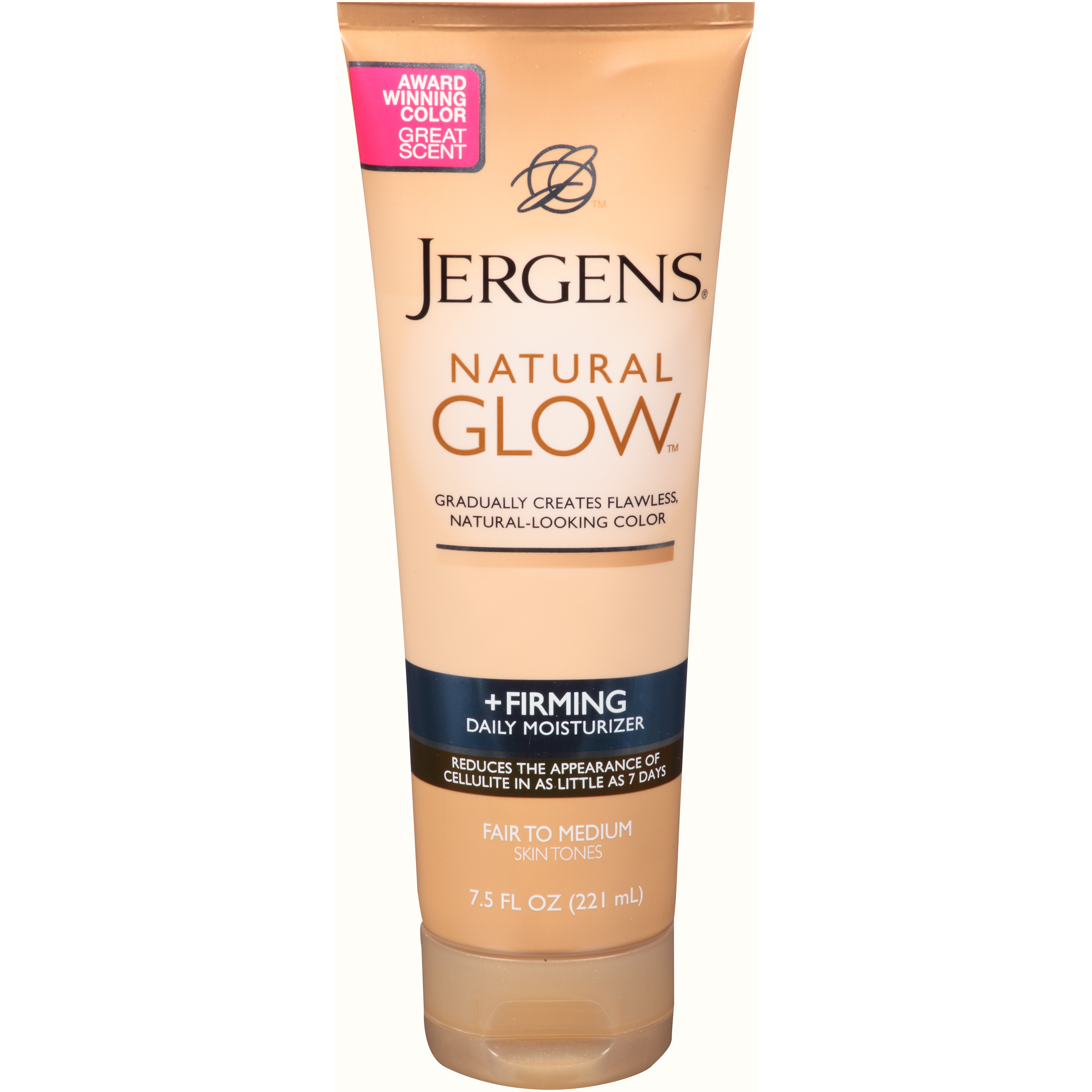 Jergens Natural Glow Firming Daily Moisturizer Fair to Medium Skin Tone - 7.5 oz