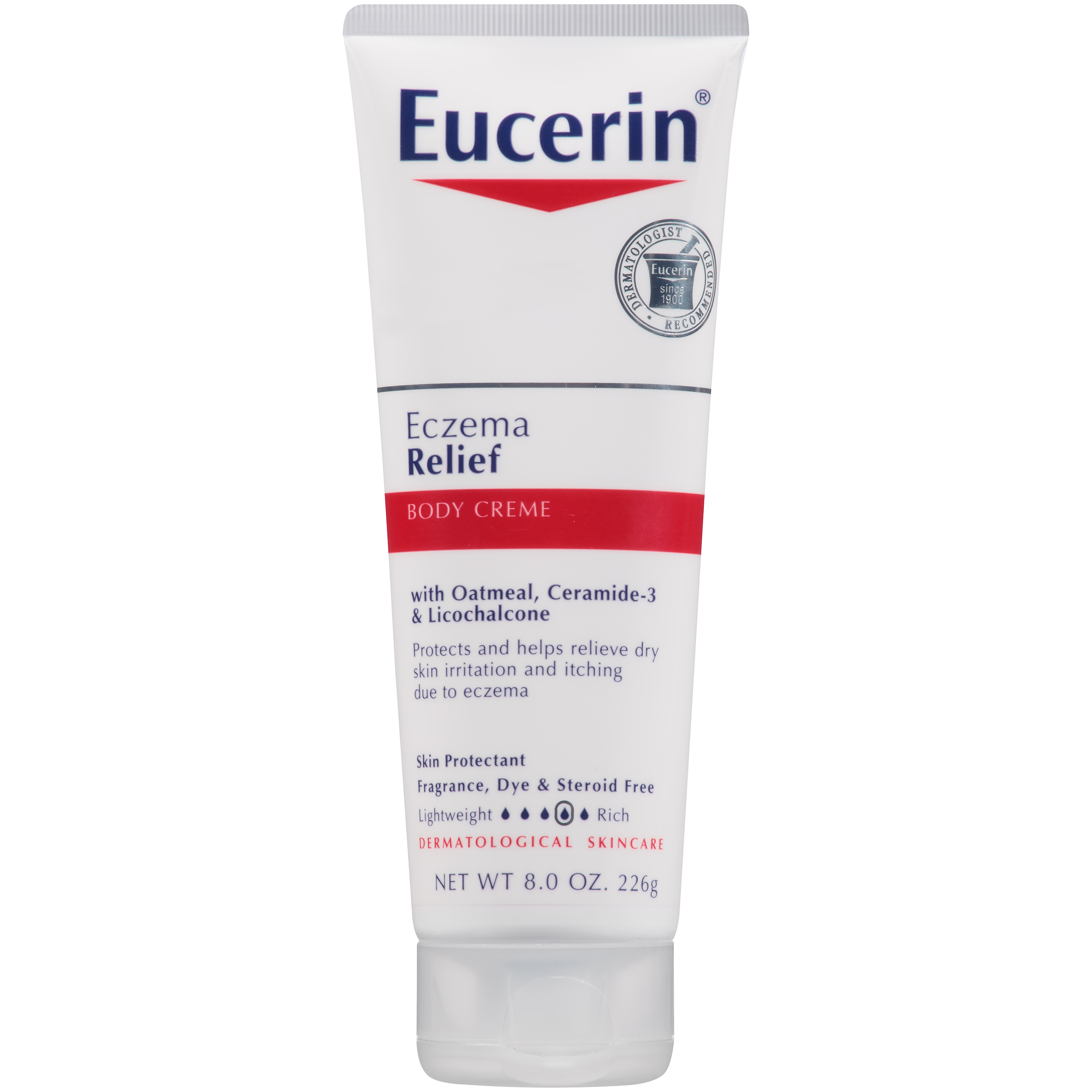 Eucerin Eczema Relief Body Creme (Adult) - 8 oz