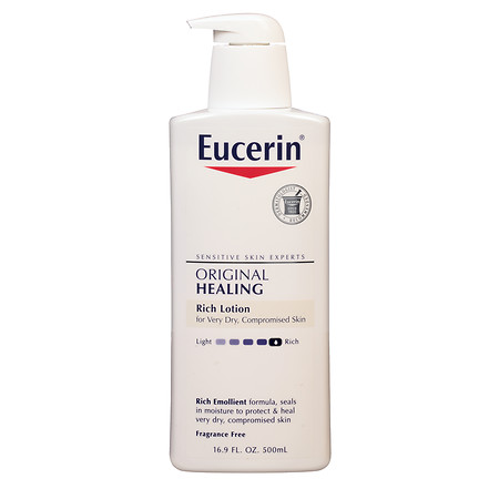 Eucerin Original Healing, Rich Lotion, Fragrance Free - 16.9 oz