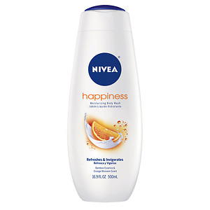 Nivea Happiness Moisturizing Body Wash - 16.9 oz