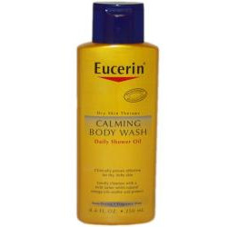 Eucerin Skin Calming Body Wash - 8.4 oz