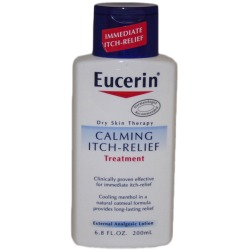 Eucerin Skin Calming Itch Relief Treatment Lotion - 6.8 oz