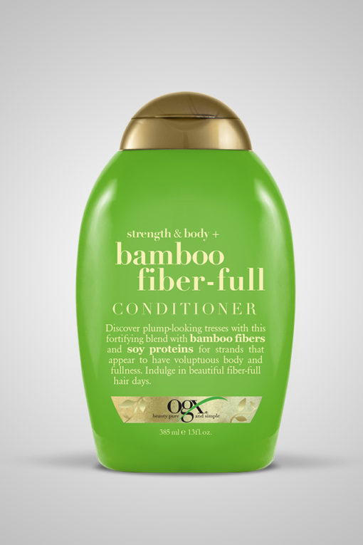 Organix (OGX) Strength & Body + Bamboo Fiber-Full Conditioner - 13 Fl Oz (385mL)