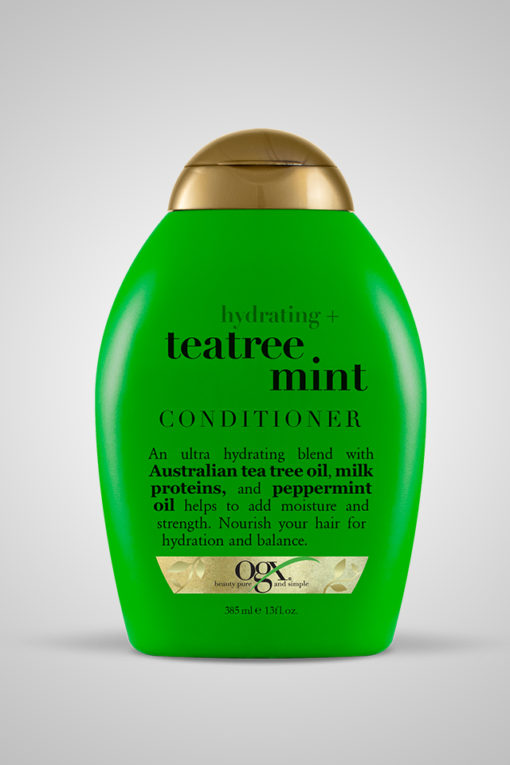 Organix (OGX) Hydrating + Teatree Mint Conditioner - 13 Fl Oz (385 mL)