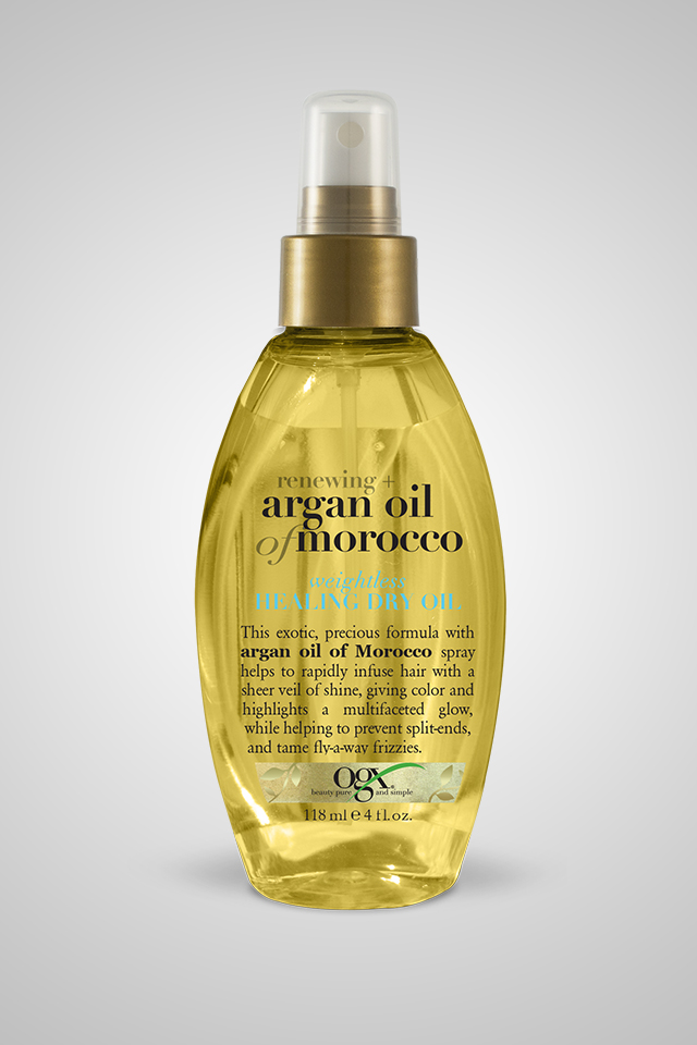 Organix Renewing + Argan Oil of Morocco Weightless Healing Dry Oil - 118 mL