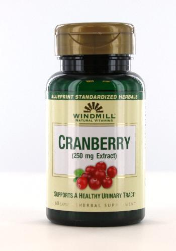 Windmill Cranberry Extract 250 mg - 60 Caosules