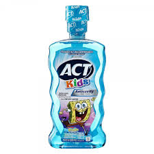 Act Kids Oceanberry Sponge Bob Rinse - 16.9 Fl Oz (500 mL)