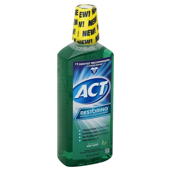 Act Restoring Mint Burst - 18 Fl Oz