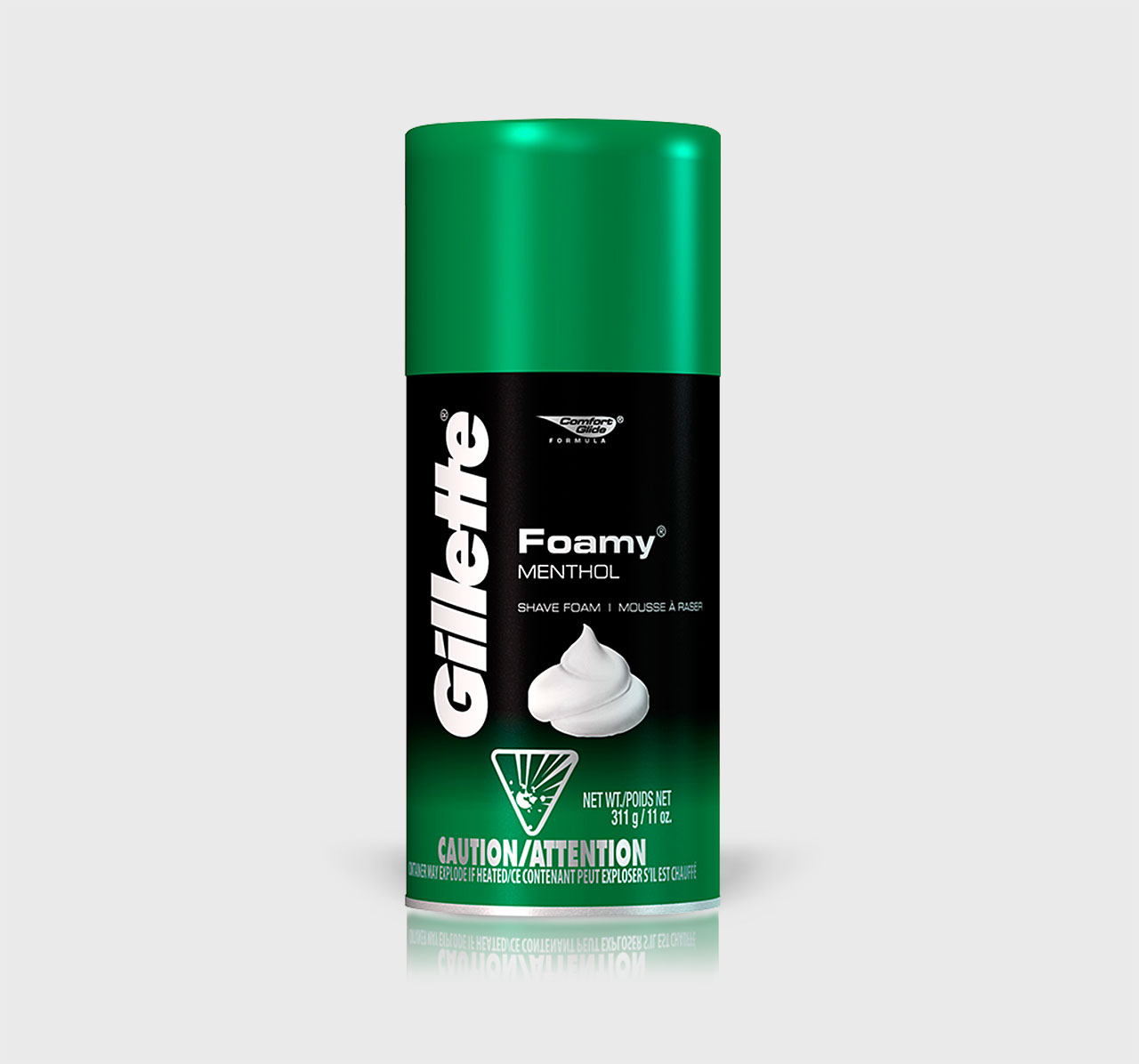 Gillette Foamy Menthol Shave Foam - 11 oz