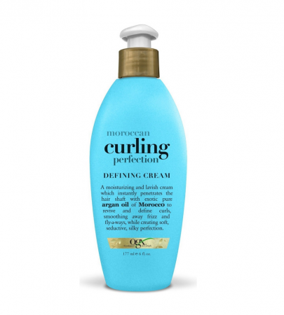 Organix (OGX) Moroccan Curling Perfection Defining Cream - 6 Fl Oz (177mL)