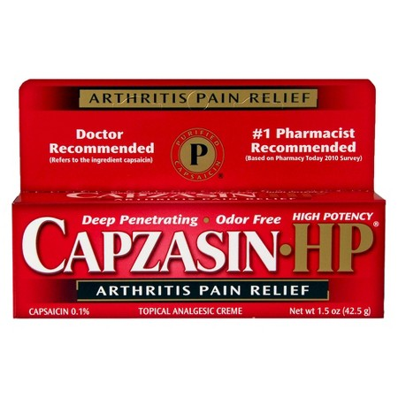 Capzasin-HP Deep Penetrating Odor Free Arthritis Pain Relief High Potency - 1.5 oz (42.5g)