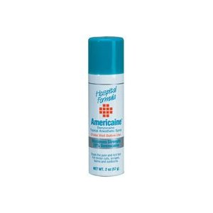 Americane Benzocaine Topical Anesthetic Spray - 2 oz (57 g)