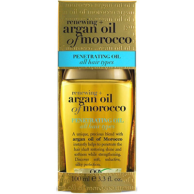 Organix (OGX) Renewing Argan Oil of Morocco Penetrating Oil All Hair Types - 3.3 Fl Oz (100 mL)