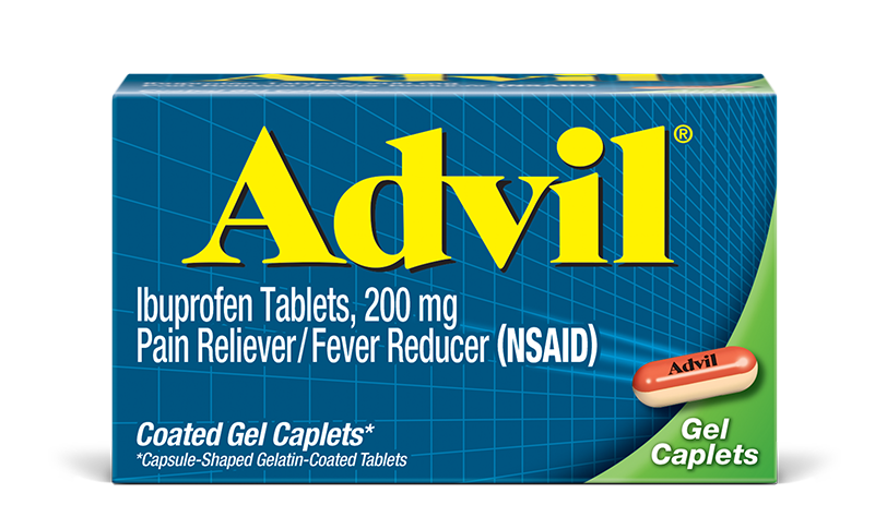 Advil 200 mg - 200 Coated Gel Caplets