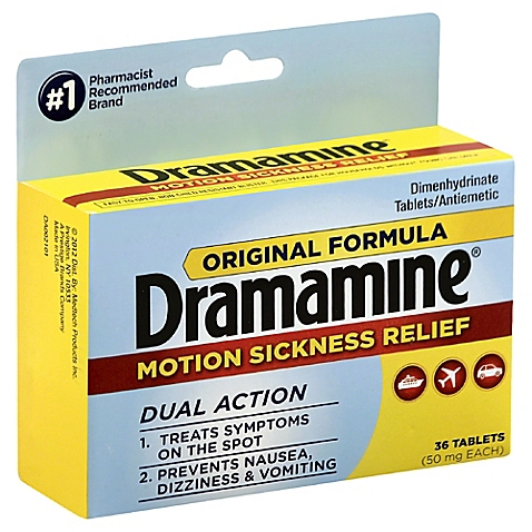 Dramamime Motion Sickness Relief Original Formula - 36 Tablets