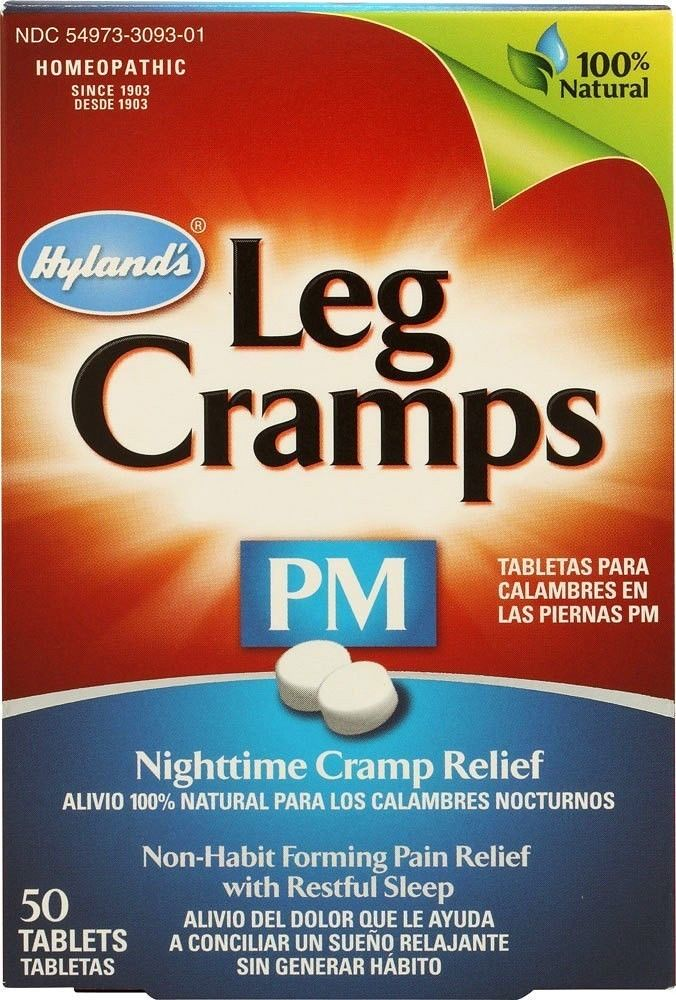 Hyland's Leg Cramps - 50 Tablets (Nighttime PM)
