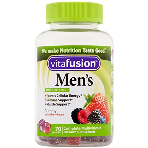 Vitafusion Men's Adult Vitamins - 70 Gummies
