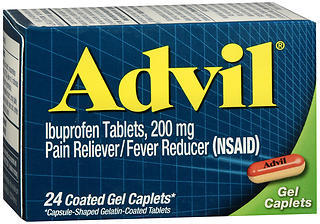 Advil Ibuprofen 200mg - 24 Coated Caplets