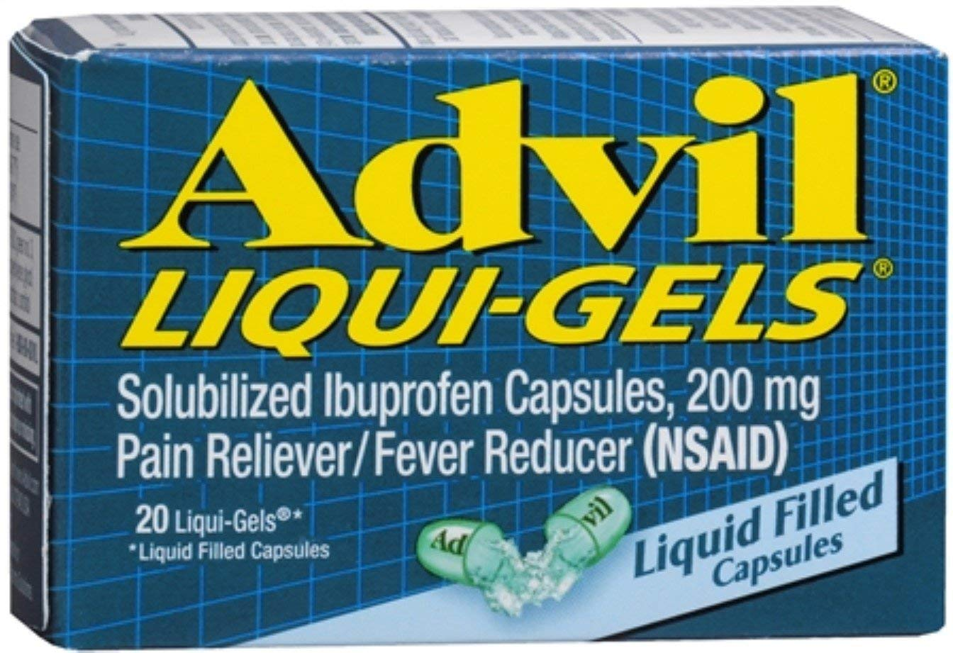 Advil Liqui-Gels - 20 Liquid Filled Capsules