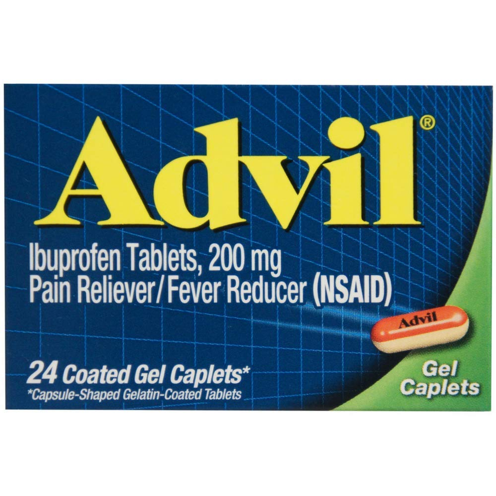 Advil - 24 Coated Gel Caplets