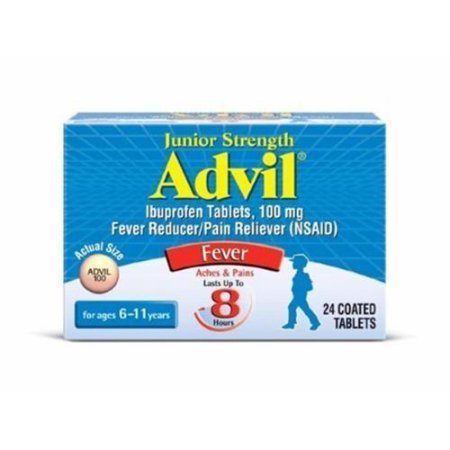 Advil Junior Strength Fever - 24 Coated Tablets