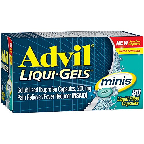Advil Liqui-Gels Minis - 80 Liquid Filled Capsules