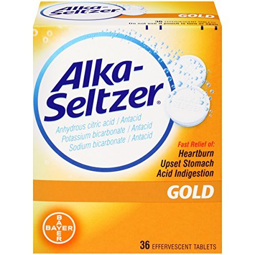 Alka-Seltzer Gold - 36 Effervescent Tablets