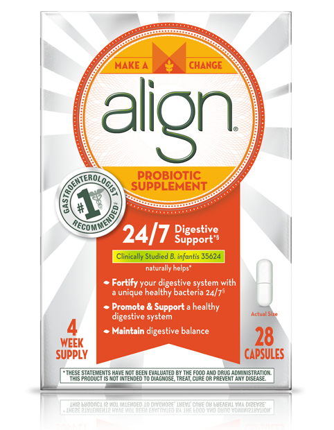Align Probiotic Supplement 24/7 Digestive Support - 28 capsules