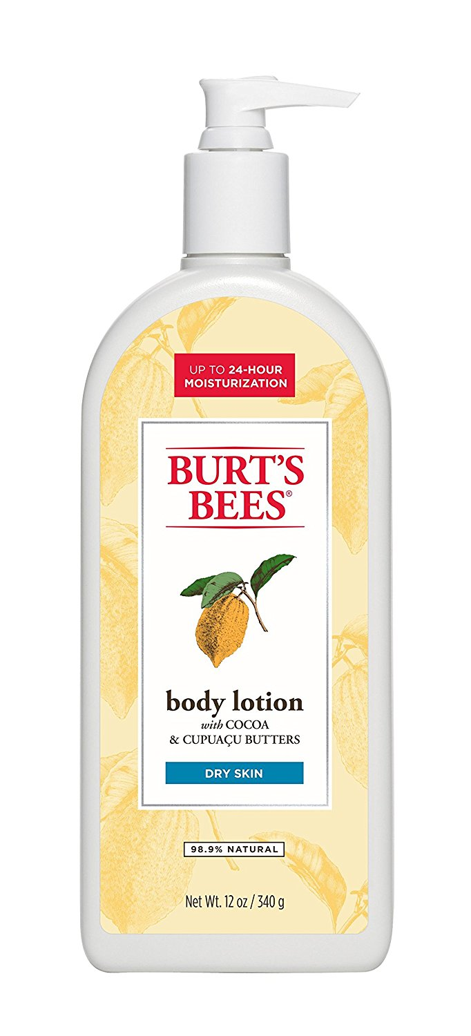Burt's Bees Body Lotion W/ Cocoa & Cupuacu Butters Dry Skin - 12 Oz (340g)