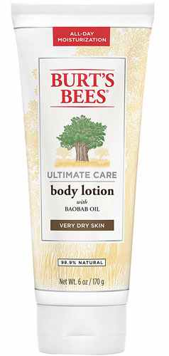 Burt's Bees Ultimate Care Body Lotion Baobab Oil Very Dry Skin - 6 Oz (170 g)