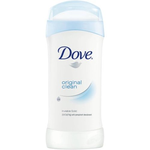 Dove, Invisible Solid, Anti-Perspirant Deodorant, Original Clean - 2.6 oz