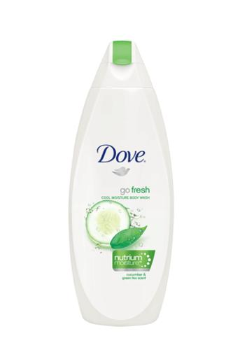 Dove, Go Fresh, Cool Moisture Body Wash, Nutrium Moisture, Cucumber & Green Tea Scent - 12 oz