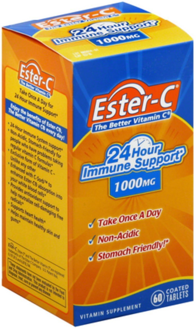 Ester-C Immune support 1000mg - 60 coated Tablets