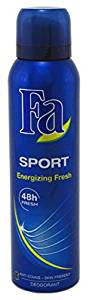 Fa Sport Non-Stop Fresh Technology 48h Fresh Energizing Fresh Deodorant Spray - 200 mL