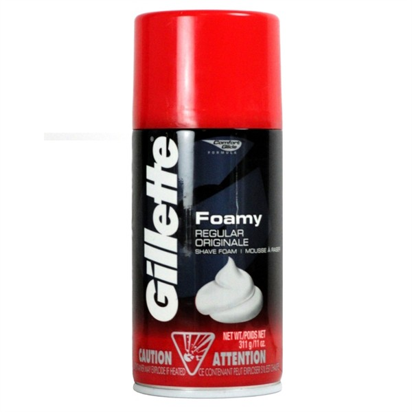 Gillette Foamy Regular Originale Shave Foam - 11 oz