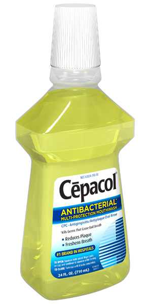 Cepacol Antibacterial Multi-Protection Mouthwash - 24 Fl Oz (710 ml)