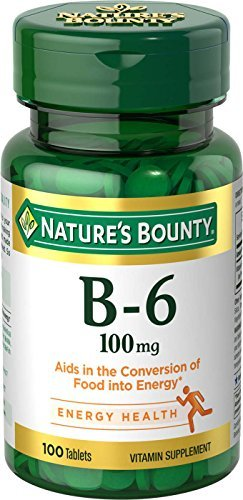 Nature's Bounty B-6 100mg - 100 tablets