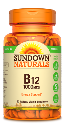 Sundown Naturals B12 1000 mg - 60 Tablets