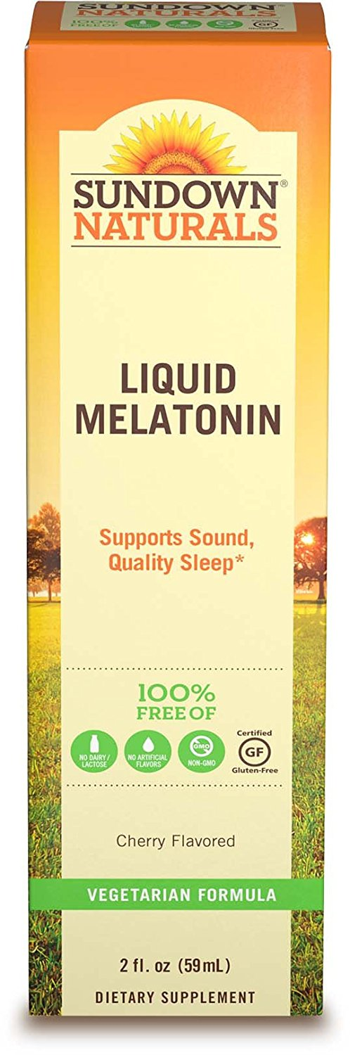 Sundown Naturals Liquid Melatonin - 2 Fl Oz (59 mL)