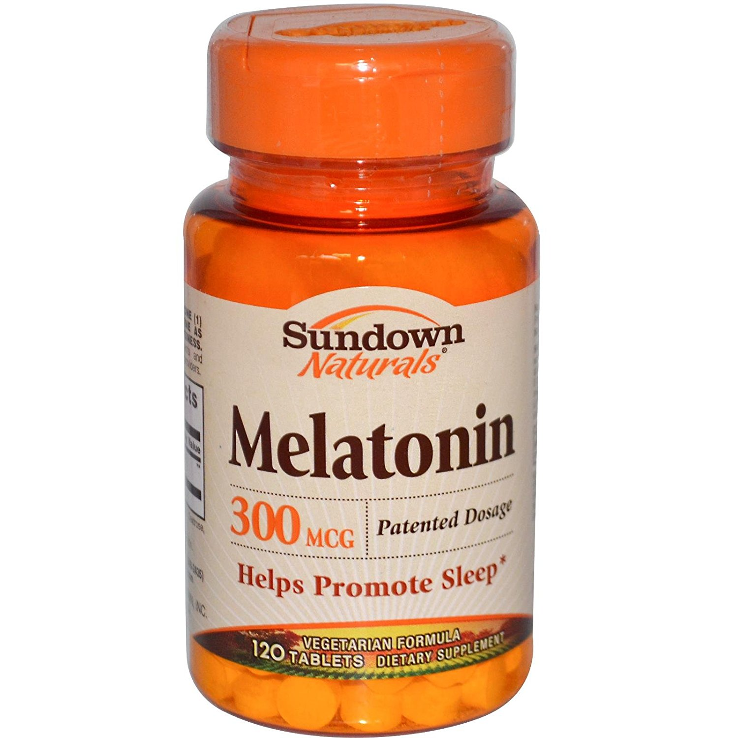 Sundown Naturals Melatonin 300 mcg - 120 Tablets