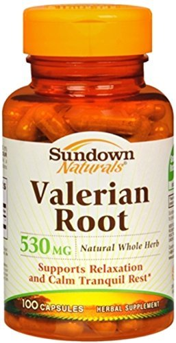Sundown Naturals Valerian Root 530 mg - 100 Capsules
