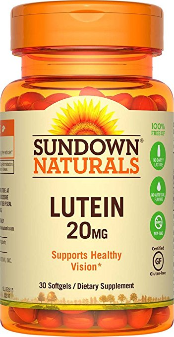 Sundown Naturals Lutein 20 mg - 30 Softgels