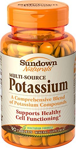 Sundown Naturals Potassium - 90 tablets