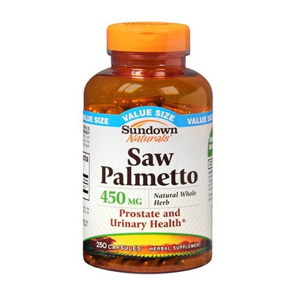 Sundown Naturals Saw Palmetto 450mg - 250 Capsules