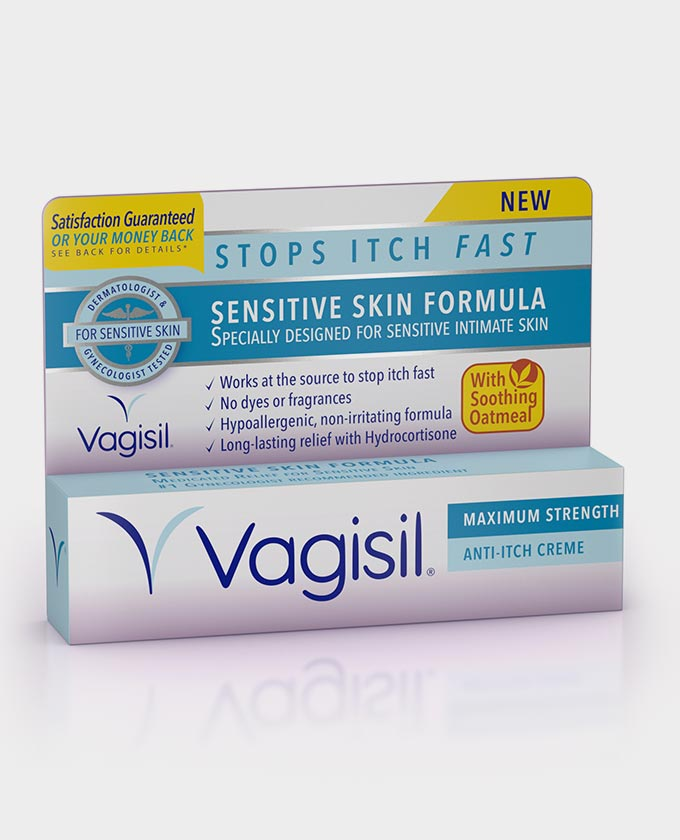 Vagisil Sensitive Skin Formula Maximum Strength Anti-Itch Creme - 1 oz (28g)