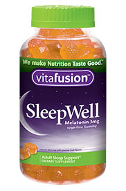 VitaFusion Sleep Well Sugar Free Gummy (Melatonin 3 mg) - 60 gummies