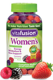 VitaFusion Women's Adult Vitamins Natural Berry Flavors - 150 gummies