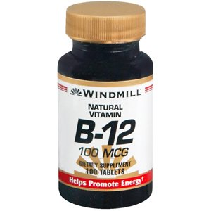 Windmill B-12 100 mcg - 100 Tablets