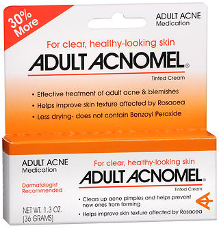 Adult Acnomel Tinted Cream Acne Medication - 1.3 oz (36 g)